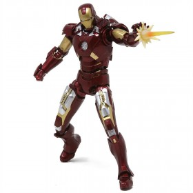 Bandai S.H.Figuarts Marvel Iron Man Mk-7 And Hall Of Armor Set (red)