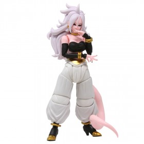 Bandai S.H.Figuarts Dragon Ball Fighter Z Android 21 Figure (pink)