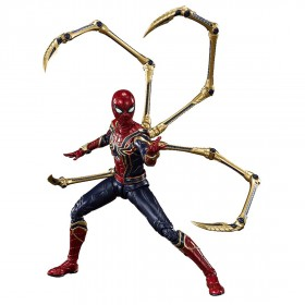 Bandai S.H.Figuarts Avengers Endgame Iron Spider Final Battle Edition Figure (red)