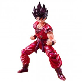 Bandai S.H.Figuarts Dragon Ball Son Goku Kaioken Ver. Figure (red)