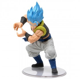 Bandai Styling Dragon Ball Vol. 6 Super Saiyan God Gogeta Figure (blue)