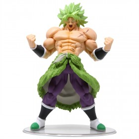 Bandai Styling Dragon Ball Vol. 6 Super Saiyan Broly Full Power Figure (green)