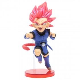 Banpresto Dragon Ball Legends Collab World Collectable Figure Vol 3 - 13 Super Saiyan God Shallot (red)