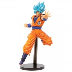 Banpresto Dragon Ball Super Chosenshi Retsuden II Vol. 4 Super Saiyan God Super Saiyan Goku Figure (orange)