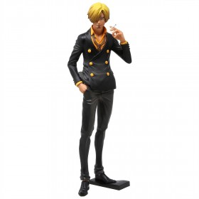 Banpresto One Piece Grandista The Grandline Men Vinsmoke Sanji Figure (black)