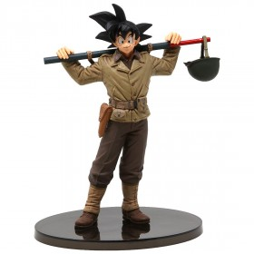 Banpresto Dragon Ball Z Banpresto World Figure Colosseum 2 Vol.4 Goku Figure (brown)