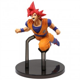 Banpresto Dragon Ball Super Goku Fes!! Vol 9 - Super Saiyan God Goku Figure (orange)