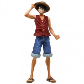 Banpresto One Piece 20th History Masterlise Monkey D. Luffy Figure (red)