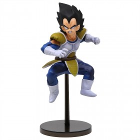 Banpresto Dragon Ball Z Banpresto World Figure Colosseum 2 Vol.6 Vegeta Figure (blue)