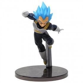 Banpresto Dragon Ball Super The Movie Ultimate Soldiers The Movie Vol 3 Super Saiyan Blue Vegeta Figure (blue)