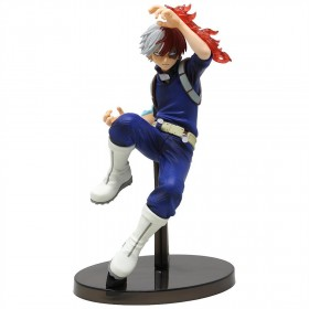 Banpresto My Hero Academia The Amazing Heroes Vol.2 Shoto Todoroki Figure (navy)