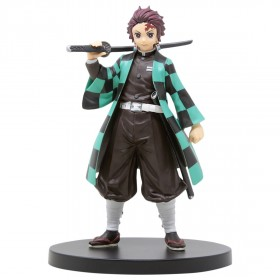 Banpresto Kimetsu No Yaiba Figure Vol.1 Tanjirou Kamado Figure Re-Run (green)