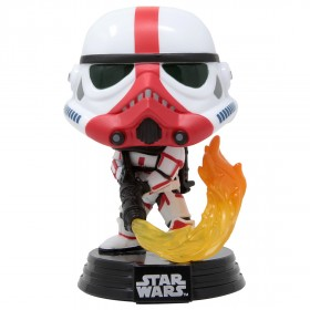 Funko POP Star Wars The Mandalorian - Incinerator Stormtrooper (white)