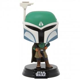 Funko POP Star Wars The Mandalorian - Covert Mandalorian (green)