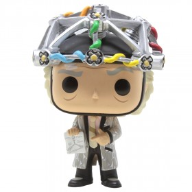 Funko POP Movies Back To The Future - Doc With Helmet (gray)
