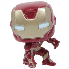 Funko POP Marvel Avengers Game - Iron Man Stark Tech Suit (red)