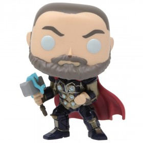 Funko POP Marvel Avengers Game - Thor Stark Tech Suit (navy)