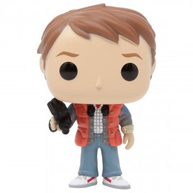 Funko POP Movies Back To The Future - Marty In Puffy Vest (orange)