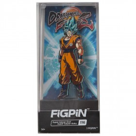 FiGPiN Dragon Ball FighterZ Super Saiyan God Super Saiyan Goku #116 (orange)