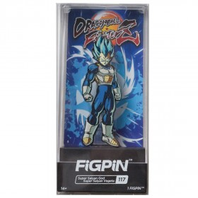 FiGPiN Dragon Ball FighterZ Super Saiyan God Super Saiyan Vegeta #117 (blue)