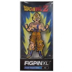 FiGPiN XL Dragon Ball Z Super Saiyan Goku #X2 (yellow)