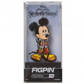 FiGPiN Kingdom Hearts King Mickey #146 (black)