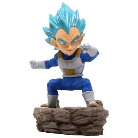 Banpresto Dragon Ball Super World Collectable Diorama Vol.3 Super Saiyan Blue Vegeta Figure (blue)