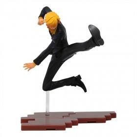Bandai Figuarts Zero One Piece Black Leg Sanji Figure (black)