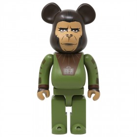 Medicom Planet Of The Apes Cornelius 400% Bearbrick Figure (green)