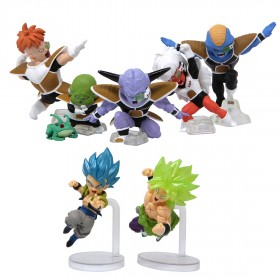 Bandai Dragon Ball Adverge Motion 2 Set of 7 Figures (multi)