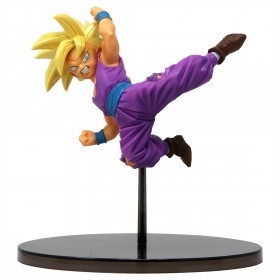 Banpresto Dragon Ball Super Chosenshi Retsuden Vol. 3 Super Saiyan Son Gohan Figure (purple)
