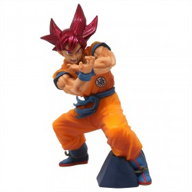 Banpresto Dragon Ball Super Blood Of Saiyans Special Ver. 6 Super Saiyan God Goku Figure (orange)
