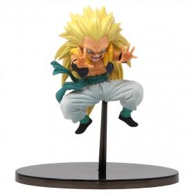 Banpresto Dragon Ball Super Chosenshi Retsuden Vol. 2 Super Saiyan 3 Gotenks Figure (yellow)