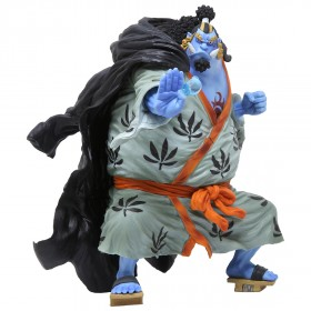 Bandai Figuarts Zero One Piece Knight of the Sea Jinbe Figure (blue)