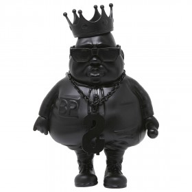BAIT x Clutter Studios x Ron English Big Poppa 6 Inch Figure - DesignerCon Exclusive (black / matte black)