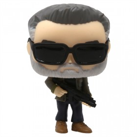 Funko POP Movies Terminator Dark Fate T-800 (gray)