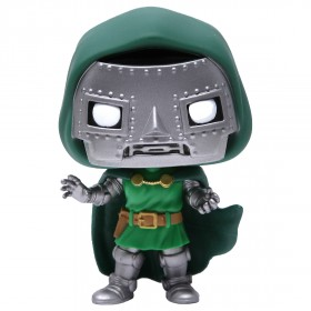 Funko POP Marvel Fantastic Four Doctor Doom (green)