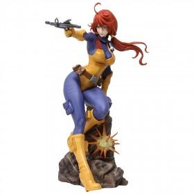 Kotobukiya G.I. Joe A Real American Hero Scarlett Bishoujo Statue (purple)