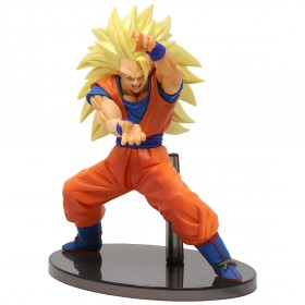 Banpresto Dragon Ball Super Chosenshi Retsuden Vol. 4 Super Saiyan 3 Son Goku Figure (orange)
