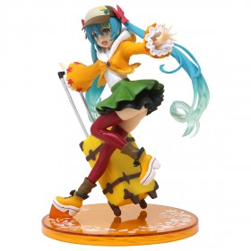 Taito Hatsune Miku Autumn Ver. Renewal Figure (yellow)