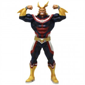 Banpresto My Hero Academia Grandista All Might Exclusive Lines Figure (navy)