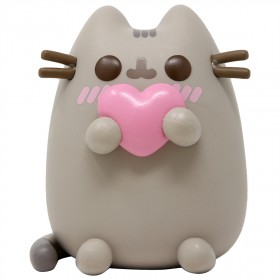 Funko POP Pusheen The Cat - Pusheen With Heart (gray)