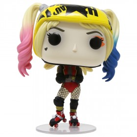 Funko Pop Heroes Birds Of Prey Harley Quinn And Beaver With Collectible Card Entertainment Earth Exclusive Beige