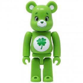 Medicom Care Bears Good Luck Bear 100% Bearbrick Figure (green)