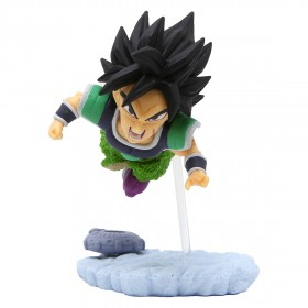 Banpresto Dragon Ball Super World Collectable Diorama Vol. 4 - B Broly (green)