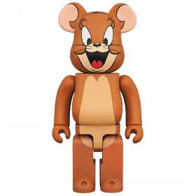 PREORDER - Medicom Tom and Jerry - Jerry 1000% Bearbrick Figure (brown)
