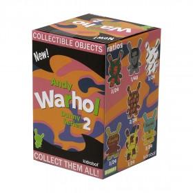 Kidrobot x Andy Warhol 3 Inch Dunny Blind Box Mini Series 2.0 Figure - 1 Blind Box