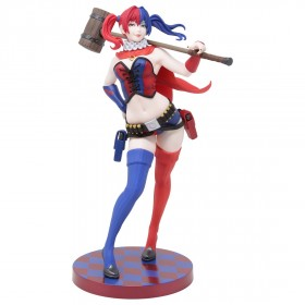 Kotobukiya DC Comics Harley Quinn New52 Ver. 2nd Edition Bishoujo Statue (red)