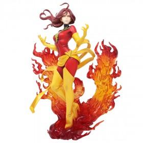 Kotobukiya Marvel Dark Phoenix Rebirth Bishoujo Statue (red)
