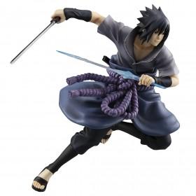 PREORDER - MegaHouse Naruto G.E.M. Series Sasuke Uchiha Shinobi World War Ver. Figure (purple)